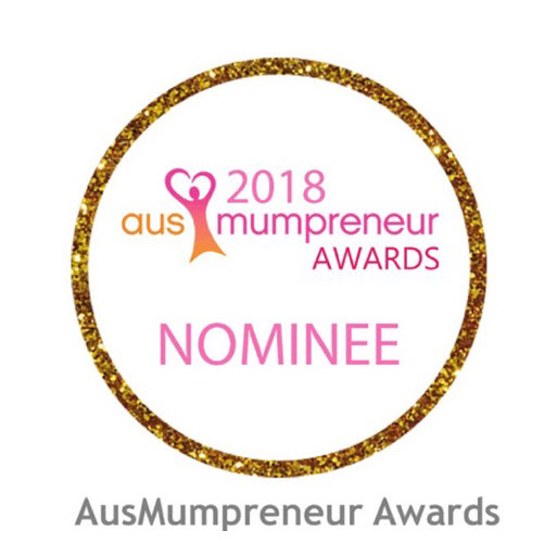 Tracey Vermaak achieves Mumpreneur 2018 award.